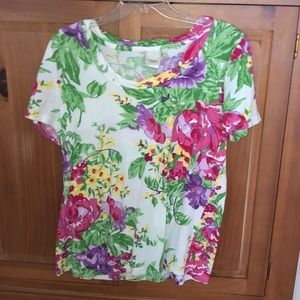 Lantana casuals floral top
